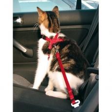 Postroj pro kočky do auta, bezpečnostní - 20–50 cm