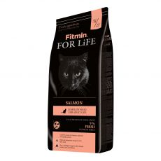 Fitmin Cat For Life Salmon 8 kg + 1 kg