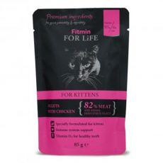 Fitmin For Life Kitten kapsička 85 g