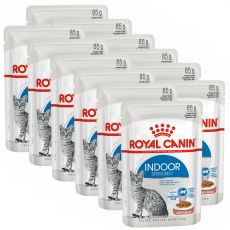 Royal Canin Indoor Sterilised In Gravy Pouch 12 x 85 g