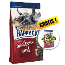 Happy Cat Supreme Adult Voralpen-Rind 1,4 kg
