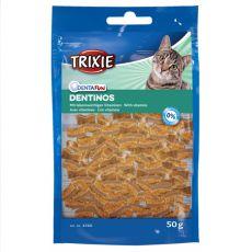 Pamlsky pro kočky Dentinos – na zuby, 50 g