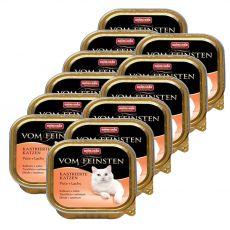 Animonda Vom Feinsten Castrated Cats - krůta + losos 12 x 100g