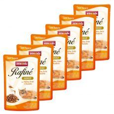 Animonda Rafiné Cat kuřecí, kachní a těstoviny 6 x 100 g