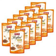 Animonda Rafiné Cat kuřecí, kachní a těstoviny 12 x 100 g