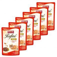 Animonda Rafiné Cat krůta, telecí a sýr 6 x 100 g