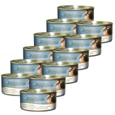 Konzerva Applaws Cat Jelly Sardine with Shrimp 12 x 70 g