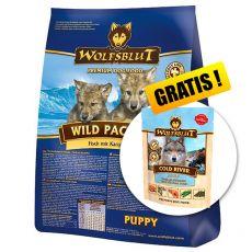 WOLFSBLUT Wild Pacific Puppy 15 kg + DÁREK