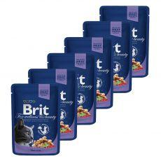 Kapsička BRIT Premium Cat Cod Fish 6 x 100 g