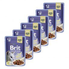 Kapsička BRIT Premium Cat Beef in Jelly 6 x 85 g
