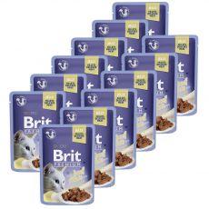 Kapsička BRIT Premium Cat Beef in Jelly 12 x 85 g