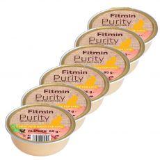 Fitmin Cat Purity kuřecí vanička 6 x 85 g