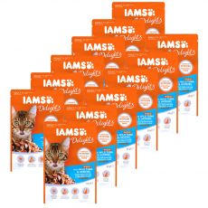 Iams Cat wild tuna & herring 12 x 85 g