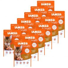 Iams Cat roast turkey & duck 12 x 85 g