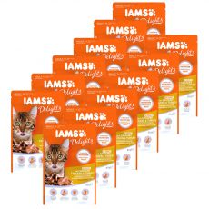 Iams Cat chicken & turkey 12 x 85 g