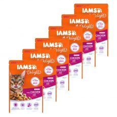 Iams Senior Cat chicken 6 x 85 g