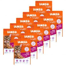 Iams Senior Cat chicken 12 x 85 g