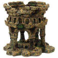 Dekorace AQUA EXCELLENT Zřícenina hradu 12,5 x 12 x 12 cm