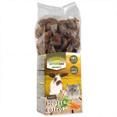 NATUREland BRUNCH Hearts carrot 150 g