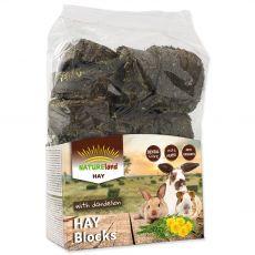 NATUREland HAY Blocks with dandelion 600 g