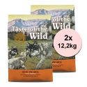 TASTE OF THE WILD High Prairie Puppy 2 x 12,2 kg