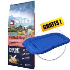 ONTARIO Weight Control Large – turkey & potatoes 12 kg