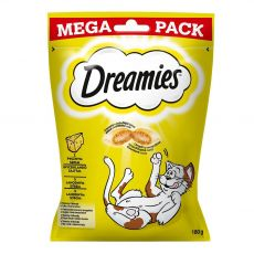Dreamies pochoutky s jemným sýrem pro kočky 180 g