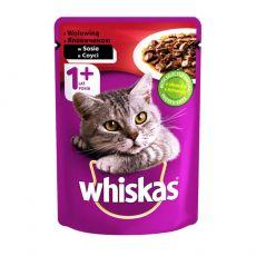 Whiskas hovězí kapsička 100 g