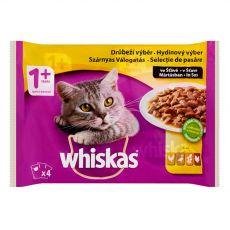 Whiskas Drůbeží výběr ve šťávě 4 x 100 g