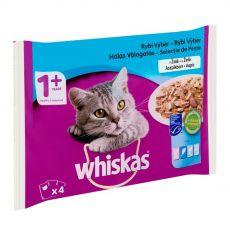 Whiskas Rybí výběr v želé 4 x 85 g