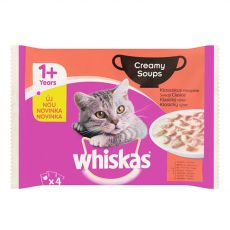 Whiskas Creamy Soups Klasický výběr 4 x 85 g