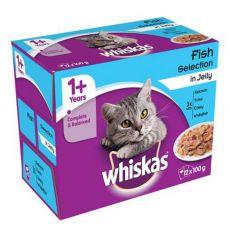 Whiskas Rybí výběr v želé 12 x 100 g