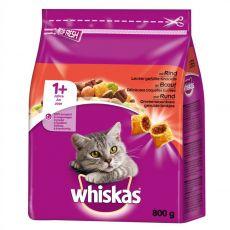 Whiskas hovězí 800 g