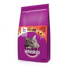 Whiskas hovězí 3,8 kg