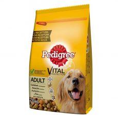 Pedigree Adult kuřecí se zeleninou 2,6 kg