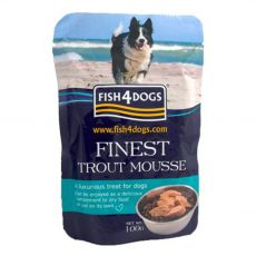 FISH4DOGS Finest Trout Mousse 100 g