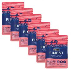 FISH4DOGS Finest Salmon Mousse 6 x 100 g