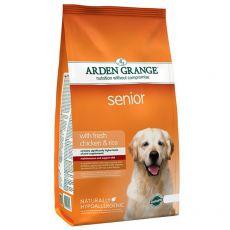 ARDEN GRANGE Senior with fresh chicken & rice 6 kg