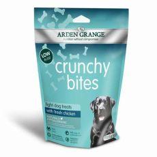 ARDEN GRANGE Crunchy Bites Light Dog Chicken 225 g