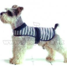 Vestička pro psy - černobílá, XS