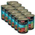 Konzerva GranCarno Original Adult hovězí a losos + špenát - 12 x 800 g