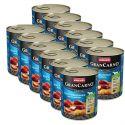 Konzerva GranCarno Fleisch Adult uzený úhoř + brambory - 12 x 800 g