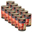Konzerva GranCarno Original Adult hovězí maso - 12 x 400 g
