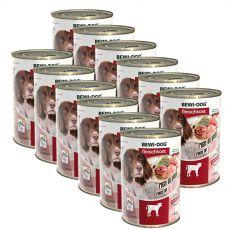 New BEWI DOG konzerva – Telecí, 12 x 400 g