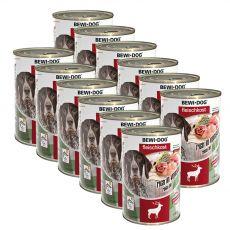New BEWI DOG konzerva – Wild, 12 x 400 g