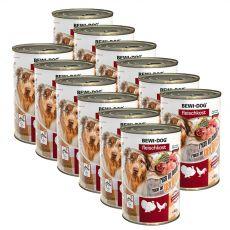 New BEWI DOG konzerva – Drůbež, 12 x 400 g