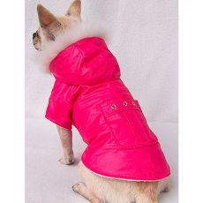 Kabátek pro pejska - tmavě růžový, XXL