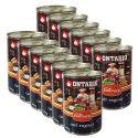 Konzerva ONTARIO Culinary Calf Ragout with Duck 12 x 400 g