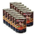 Konzerva ONTARIO Culinary Calf Ragout with Duck 12 x 800 g