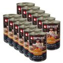Konzerva ONTARIO Culinary Chickpea, Chicken and Curry 12 x 400 g
